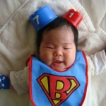 Not Superman, it's Babyman!