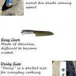 "New Product! Japanese Chef's Knife ""CHEF's KNIFE"" (Daily) – Sakai Traditional Blades –"