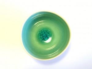"""Handy Soup Bowl (Blue) x5 """"Minamo"""" in a Gift Box – MinoYaki –"""