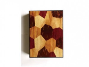 A4 Document Box – Wood Mosaic –