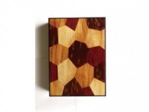 A4 Document Box – Wood Mosaic –
