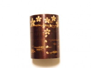 Tea Canister (Large) with a Gift Box – KABA cherry –